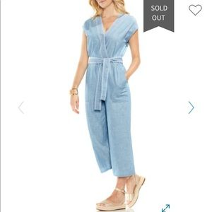 Vince Camuto Chambray Jumpsuit